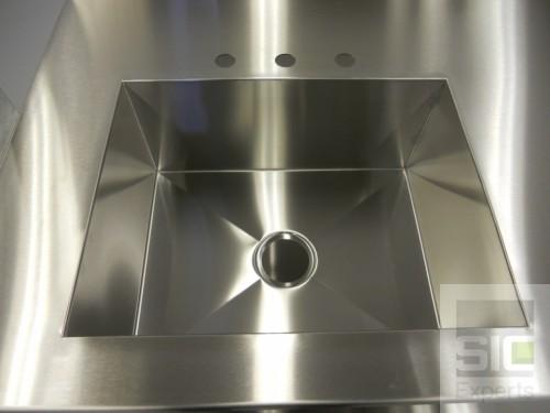 Custom sink stainless steel