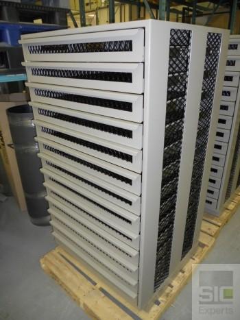 Bullet vest storage cabinet