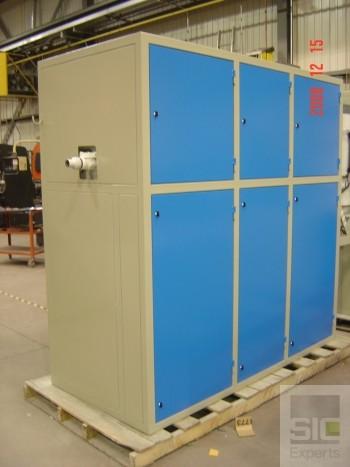Cabinet industriel en acier