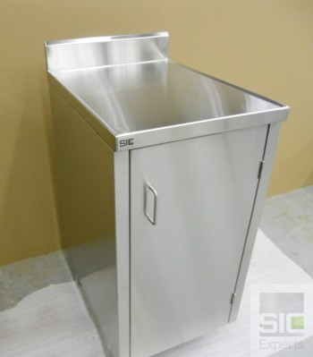 Cabinet stainless steel