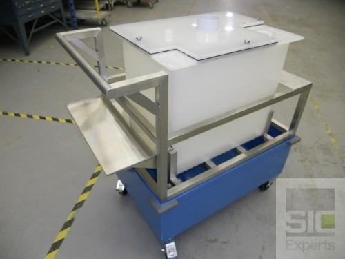 Custom handling cart