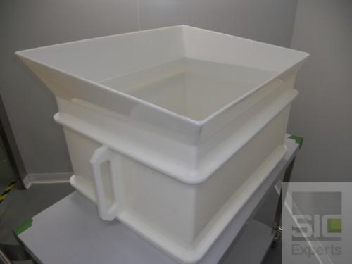Food grade plastic funnel