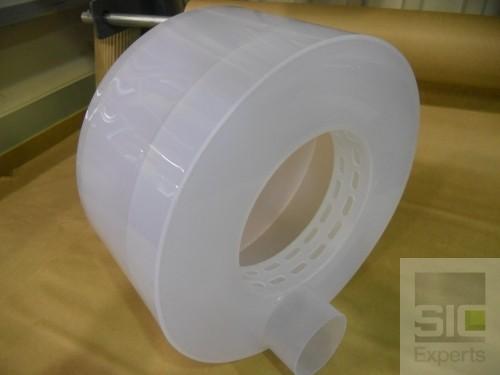 Industrial plastic funnel
