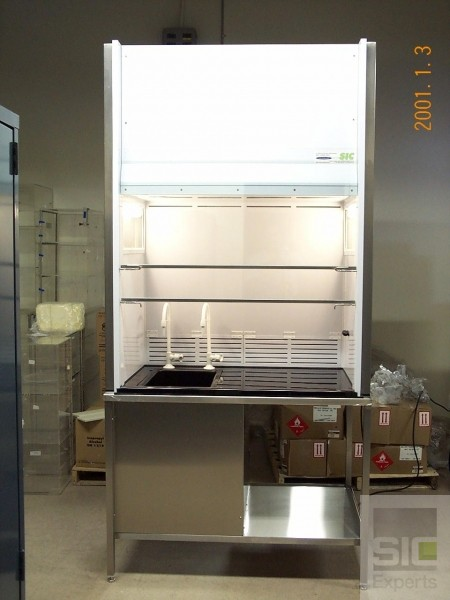 Laboratory fume hood filtration system
