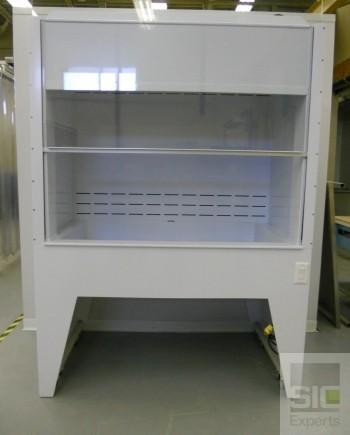 Polypropylene laboratory casework