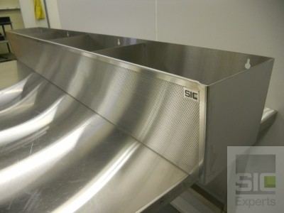 Wall mount stainless steel basket