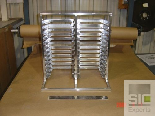 Stainless steel support stand