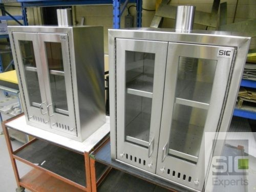 Ventilated storage cabinet SIC30534