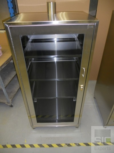 Laboratory medical glass cabinet SIC30500A