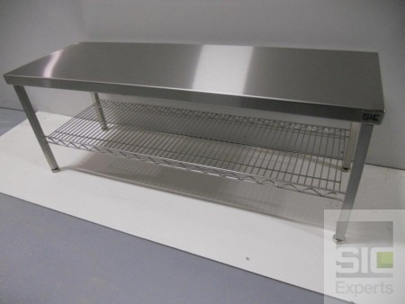 Stainless steel gowning bench SIC32059