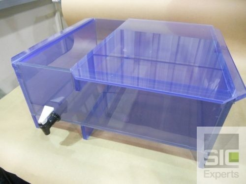 Clear PVC plastic tank SIC29515