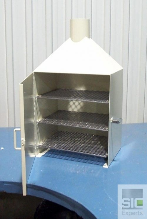 Cabinet de rangement ventilé
