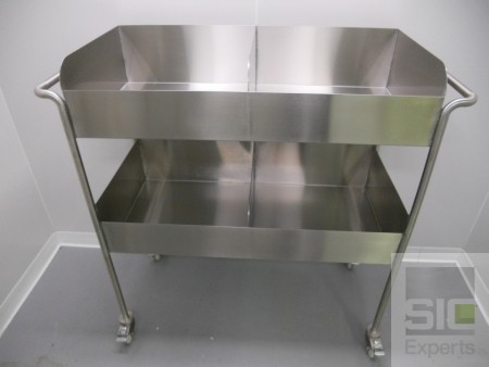 Stainless steel trolley cart