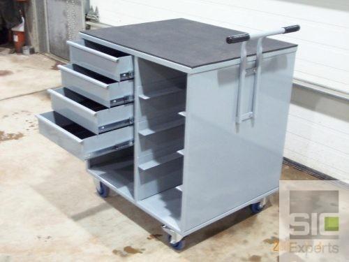 Steel mobile workshop trolley SIC06494