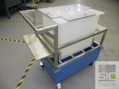 Custom material handling cart SIC29487
