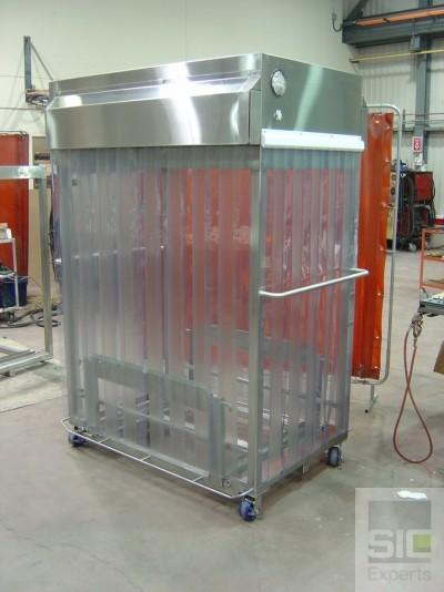 Cleanroom laminar flow trolley SIC19047