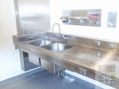 Laboratory sink and countertop
