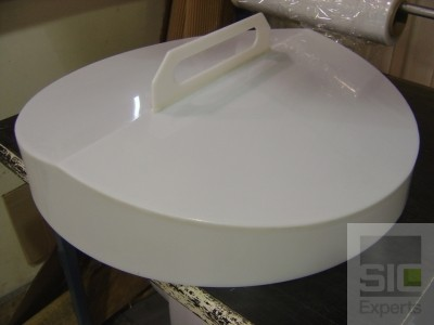 Polyethylene tank cover