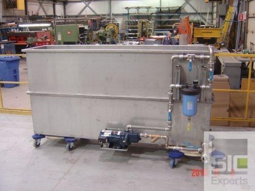 Custom stainless steel tub SIC24713