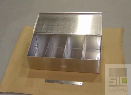 Stainless steel gloves dispenser