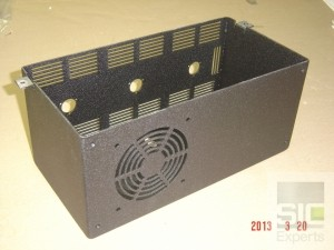 Electronic components case