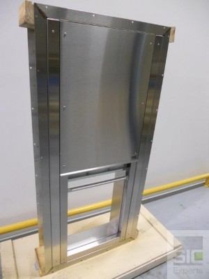 Pass through window stainless steel SIC32493