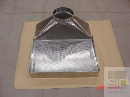 Table top exhaust hood