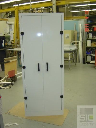 Custom polypropylene storage cabinet SIC27036