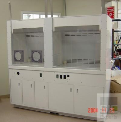 Plastic lab casework