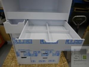 Plastic laboratory furniture
