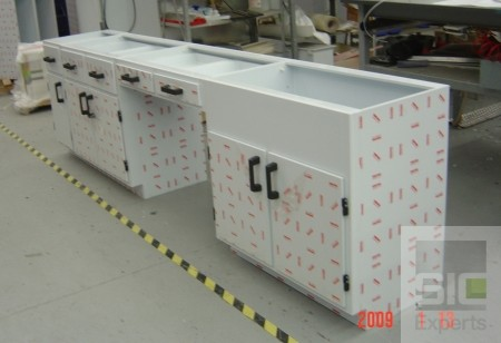 Plastic laboratory furniture SIC23269
