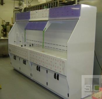 Benchtop lab furniture manufacturer SIC23011