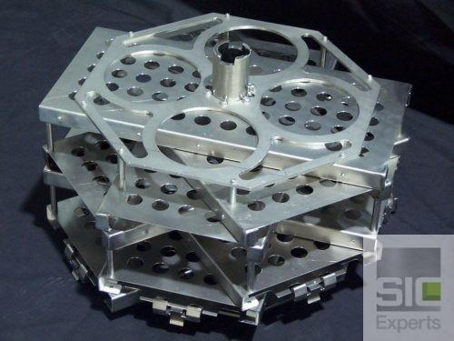 Titanium basket for dripping