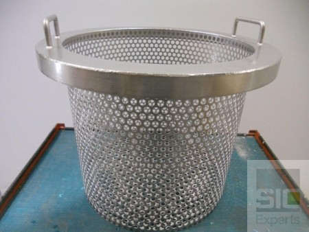 Custom stainless steel basket