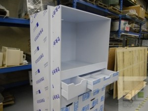 Plastic laboratory furniture
