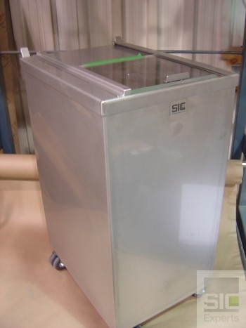Medical stainless steel waste receptacle SIC26740