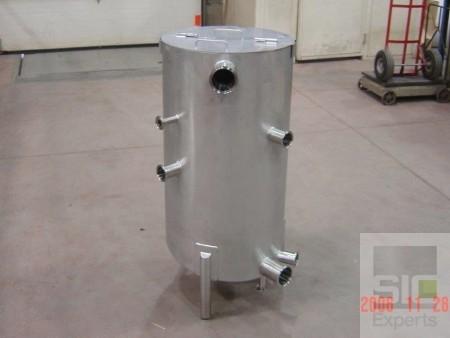 Sanitary stainless tank