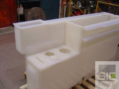 Custom chemical plastic tank