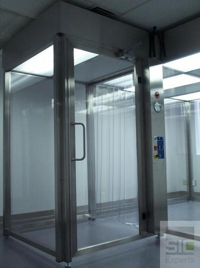 Hardwall freestanding clean room SIC09788