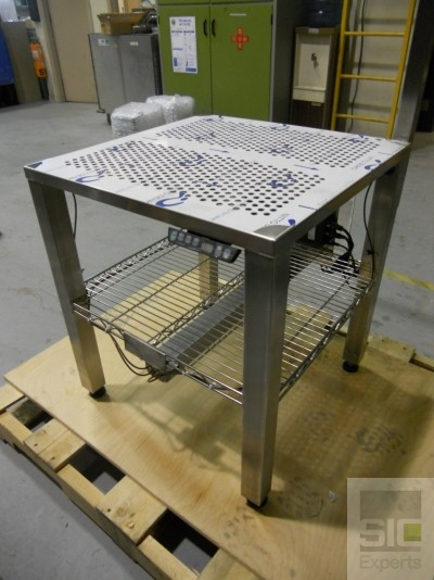 Electric height adjustable table stainless SIC31522