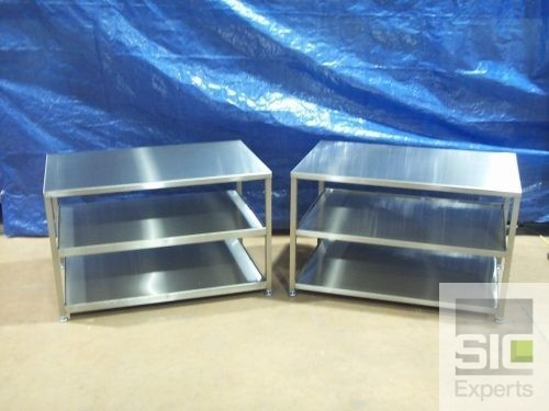 Stainless steel food preparation table SIC05030