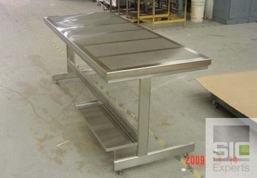 Laboratory perforated top table SIC23863