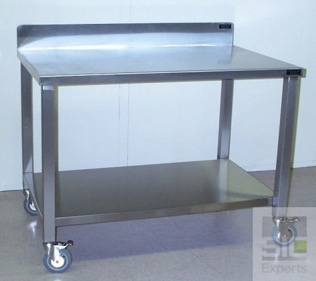 Clean room stainless steel table